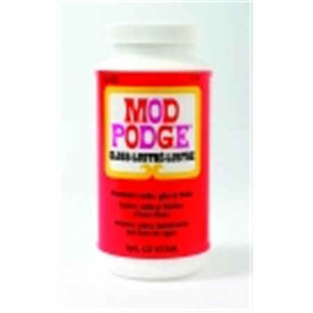 Mod Podge Fast Dry Non-Toxic Non-Flammable Tissue Glue And Glaze - 1 Pint Jar, - Dry Glaze