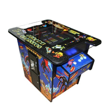Video Game Machine Cocktail Arcade Machine with 60 Classic