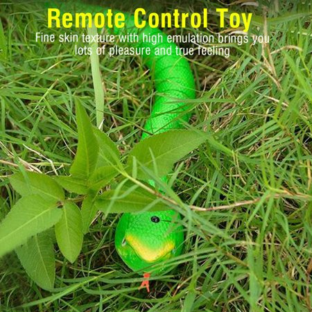 EECOO 1Pc Infrared Remote Control Fake Snake Kids Animal Trick RC Toy Remote Control Snake RC - Controlled Snake