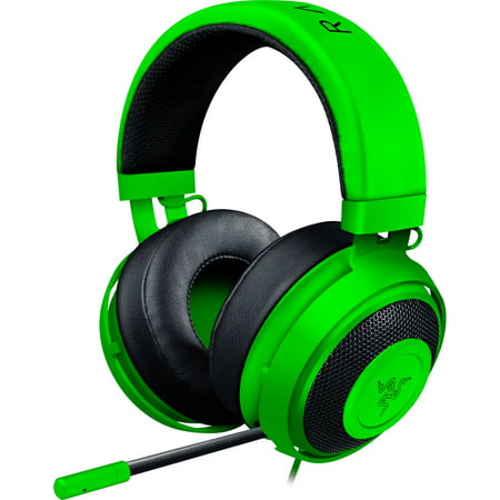 Razer Kraken Pro V2 Analog Gaming Headset With Retractable Microphone For Pc  Xbox One And Playstation 4  Green