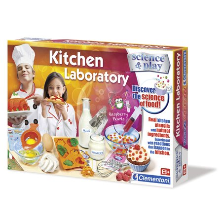 Clementoni Kitchen Laboratory: Discover the Science of Food - Kitchen Science