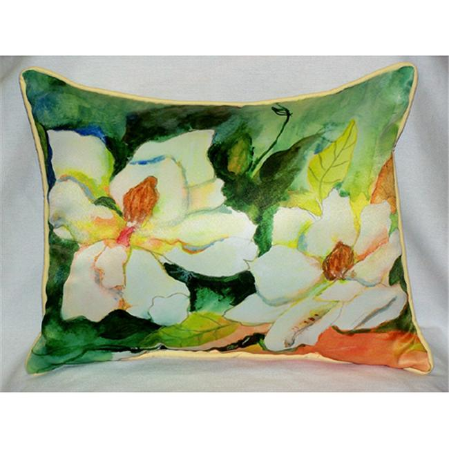 Betsy Drake HJ251 Magnolia Art Only Pillow 15''x22''