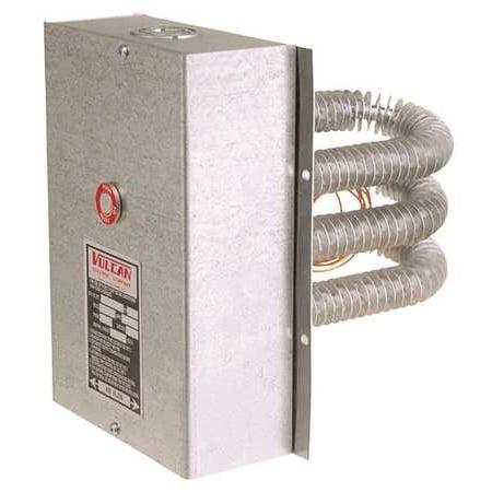 Finned Tubular Air Duct Heater, Vulcan, (Vulcan Stainless Steel Heater)