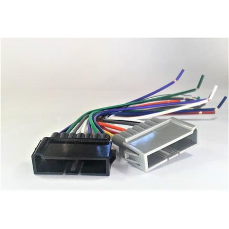 carxtc radio wire harness installs new car stereo fits dodge ram pickup  1994 to 2001 - walmart com