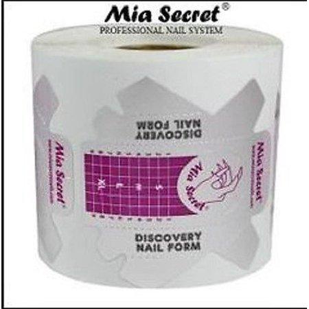LWS LA Wholesale Store  200 PCs Mia Secret Nail DISCOVERY Form for Professional Nail System