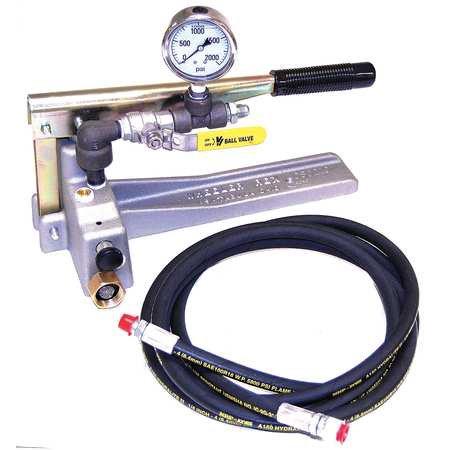 Rice Hydrostatic Pump (WHEELER-REX 29201 Hydrostatic Test Pump,1000 PSI)