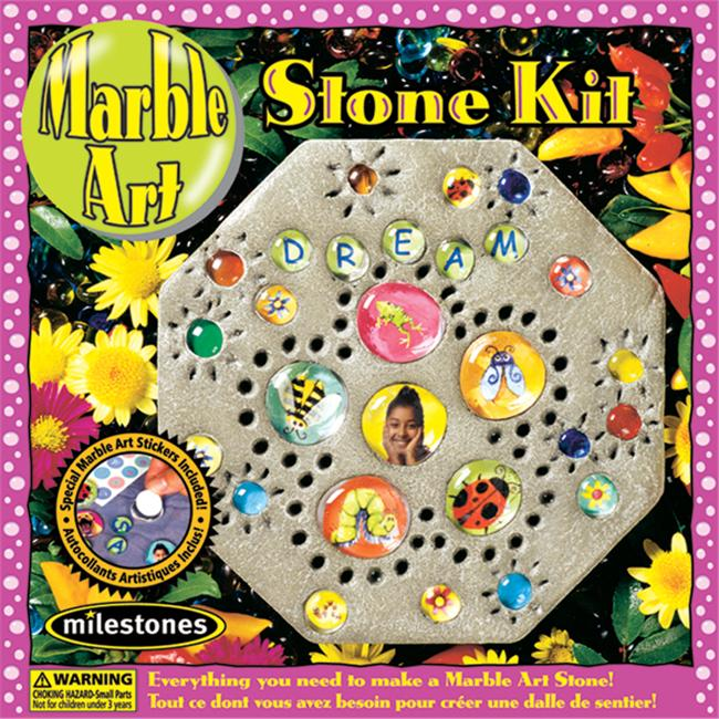 Milestones 90111238 Marble Art Stone Kit