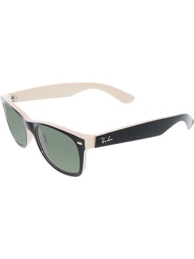 Ray-Ban Men's New Wayfarer RB2132-875-52 Black Wayfarer Sunglasses