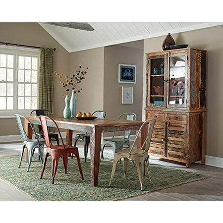 Coaster Company Keller Rustic Rectangular Dining Table, Multi-Color ()