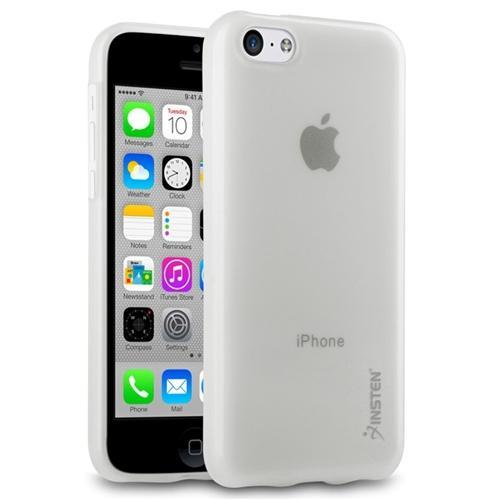 Insten Frost Clear TPU Rubber Soft Gel Cover Case for Apple iPhone 5C