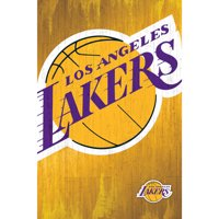 Los Angeles Lakers 22'' x 34'' Logo Team Poster - No Size