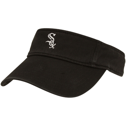 Chicago White Sox '47 Clean Up Visor - Black - OSFA