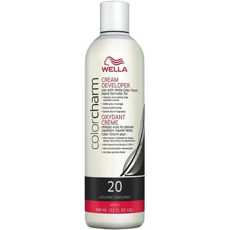 Wella COLOR CHARM, HAIR COLOR Cream Developer 32 oz Wella Color Charm Creme Developer