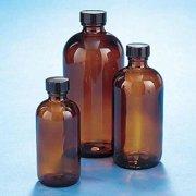KIMBLE CHASE 5120120C-26 Round Bottle, 1 Oz, 79mm H, Foam , 432 Pk