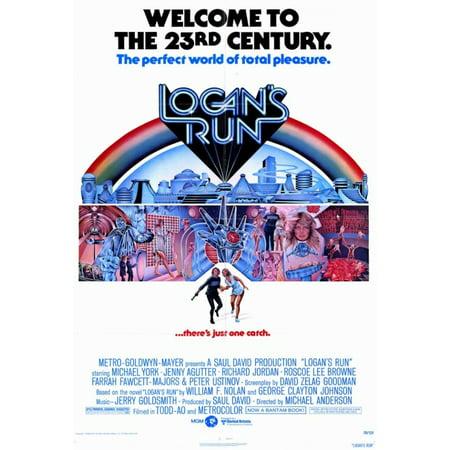 Logans Run Movie Poster Print  27 X 40