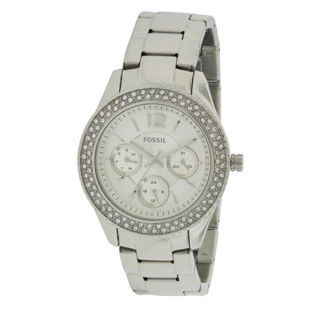 Fossil Set Wrist Watch - Fossil Stella Stainless Steel Chronograph Ladies Watch ES3588