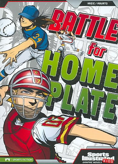Battle for Home Plate (Sports Illustrated Kids Graphic Novels)