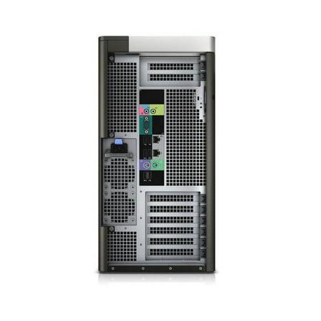 Refurbished Dell Precision T7610 Workstation 2x E5-2640 Six Core 2.5Ghz 128GB 256GB SSD K600 Win 10 Pre-Install - image 2 of 2