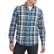 Faded Glory Men's Long Sleeve Flannel Shirt