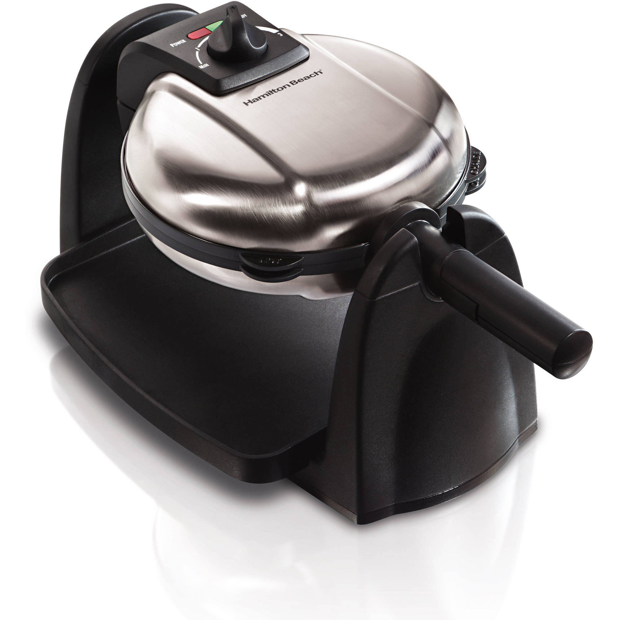 Hamilton Beach Flip Belgian Waffle Maker with Removable Grids