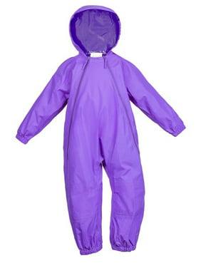 Splashy Nylon One Piece Suit Purple 4T
