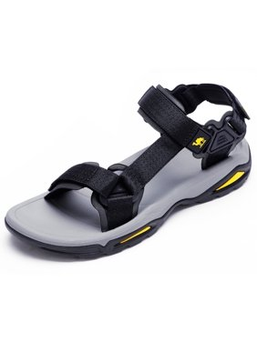 CAMEL Sport Sandals for Men Strap Athletic Shoes Water Hiking Sandals for Walking Beach Outdoor Summer