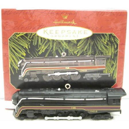 Hallmark QX6377 Lionel 746 Norfolk and Western Steam Locomotive Christmas Orname](Western Christmas)