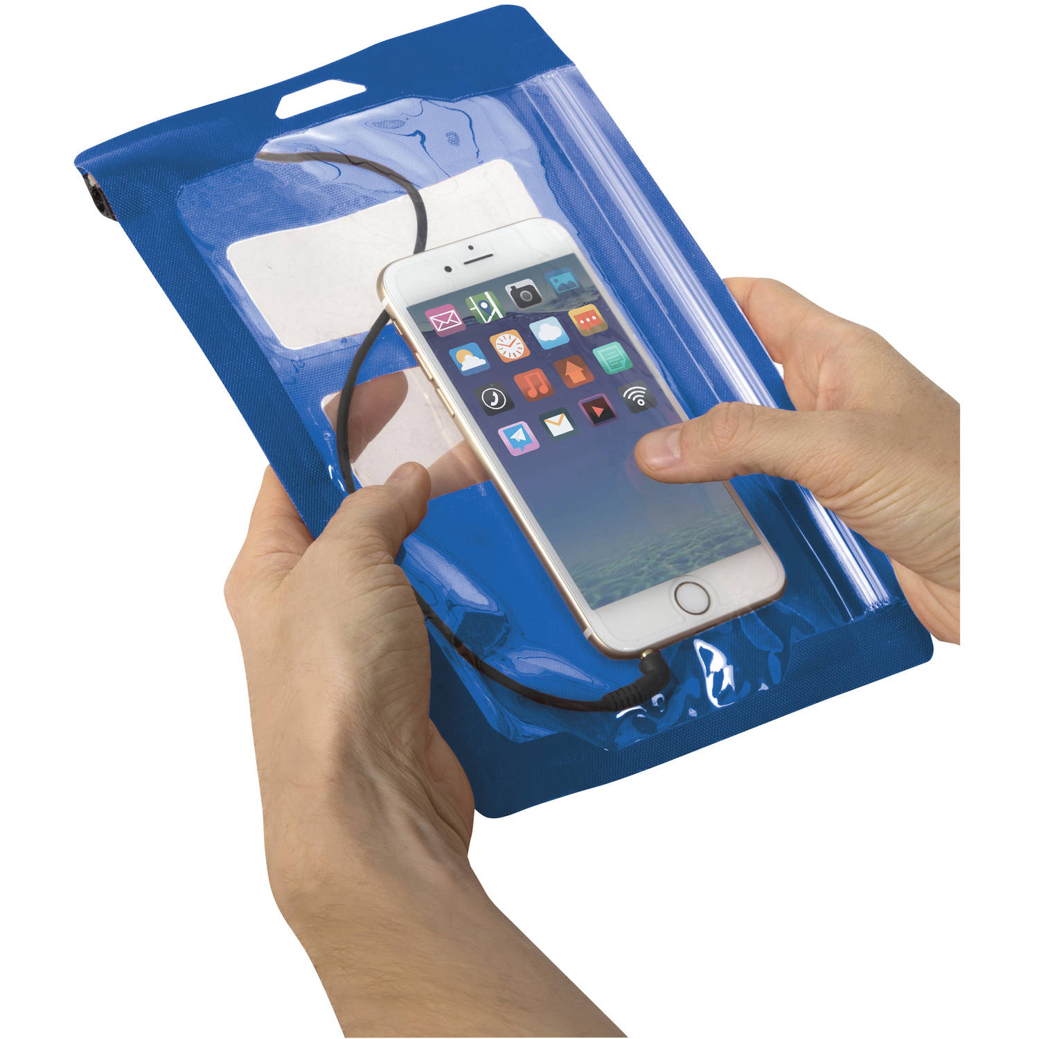 Outdoor Products Waterproof Pouch Medium, Blue