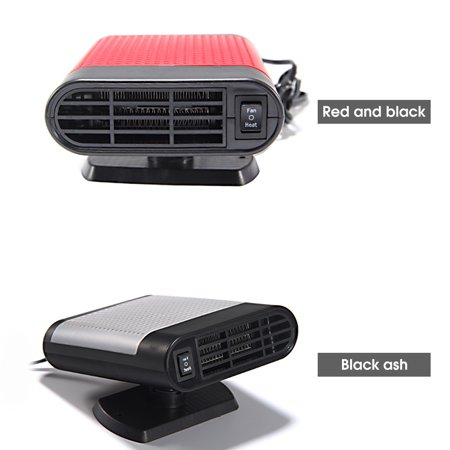 12V 150W Protable Electric Heating Cooling 2 in 1 Fan Windscreen Window Demister Driving Defroster - image 4 de 6