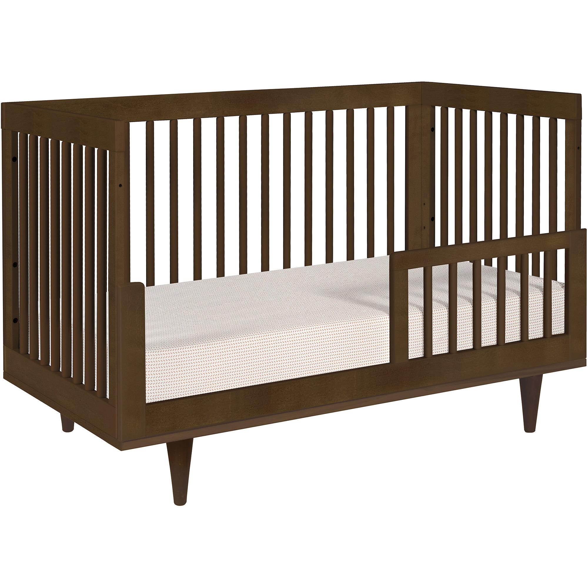 Baby Mod Marley 3 In 1 Convertible Crib Walnut   Walmart.com