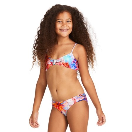 c52f9d89066b0 Raisins Girls - Raisins Girls Crystal Cove Odysseas Strappy Bikini Set 7 -  Walmart.com