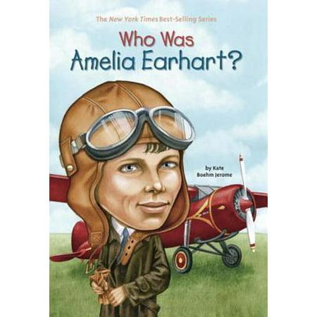 Who Was Amelia Earhart? - eBook - Amelia Earhart Child