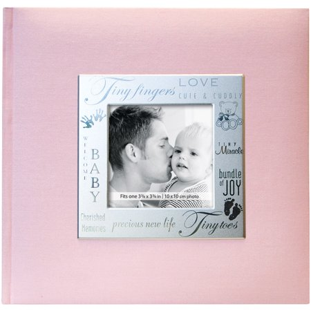 200 Pocket Album - Fabric Expressions Photo Album, 8.5