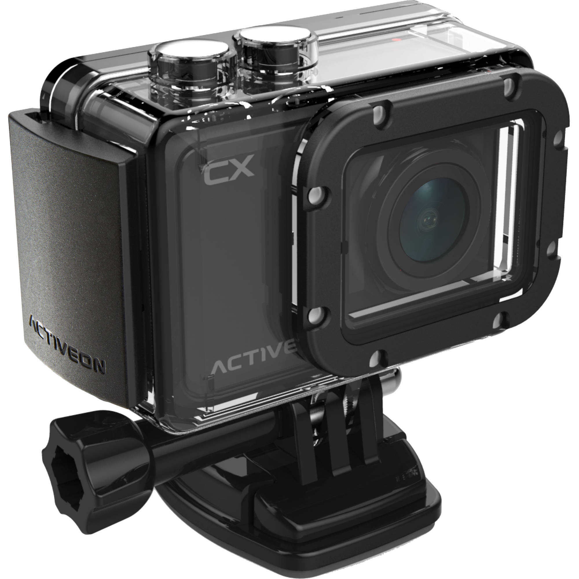 "ACTIVEON CX Action Camera Camcorder with 2"" LCD"