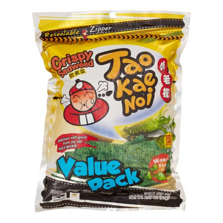 Tao Kae Noi Crispy Seaweed  Wasabi  2 3 Oz