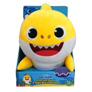 """WowWee 18"""" Plush Pinkfong Baby Shark with Daddy Shark Singing Plush Clip"""