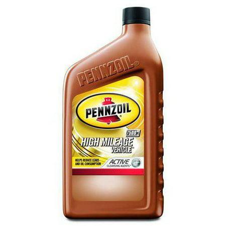 Pennzoil High Mileage Vehicle 5w 20 Motor Oil 1 Qt