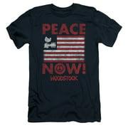 Woodstock Peace Now Mens Slim Fit Shirt