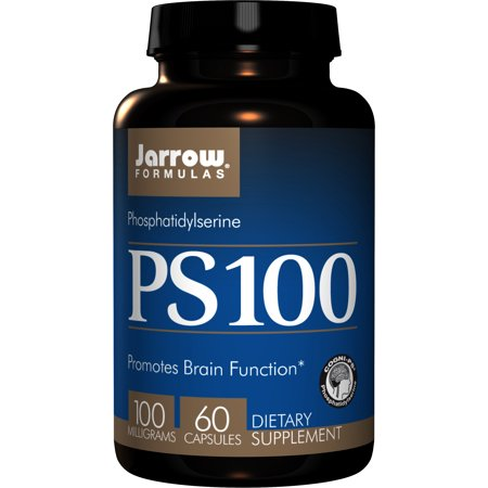 Jarrow Formulas PS 100, Promotes Brain Function, 100 mg, 60