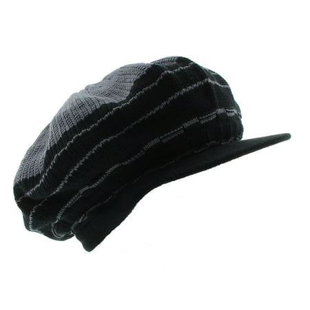 JFH Rasta Dreadlocks Visor Hat Multiple Designs and Colors - Grey/Black](Dreadlock Hat)