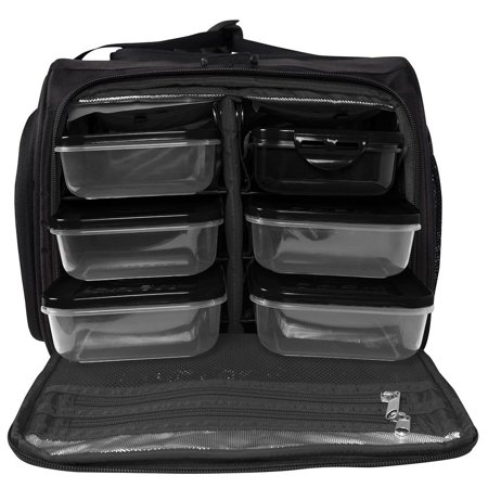 6 Pack Fitness Expert Beast Duffle 500 Stealth Black - Walmart.com 17e038a6a965f