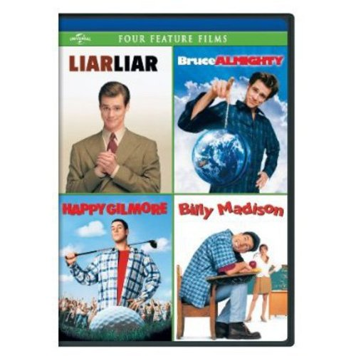 Liar Liar / Bruce Almighty / Happy Gilmore / Billy Madison (Anamorphic Widescreen)