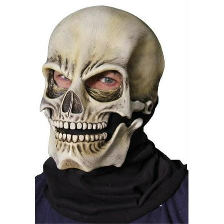 Morris Costumes 1010MDBS Sock Skull Classic Latex Mask