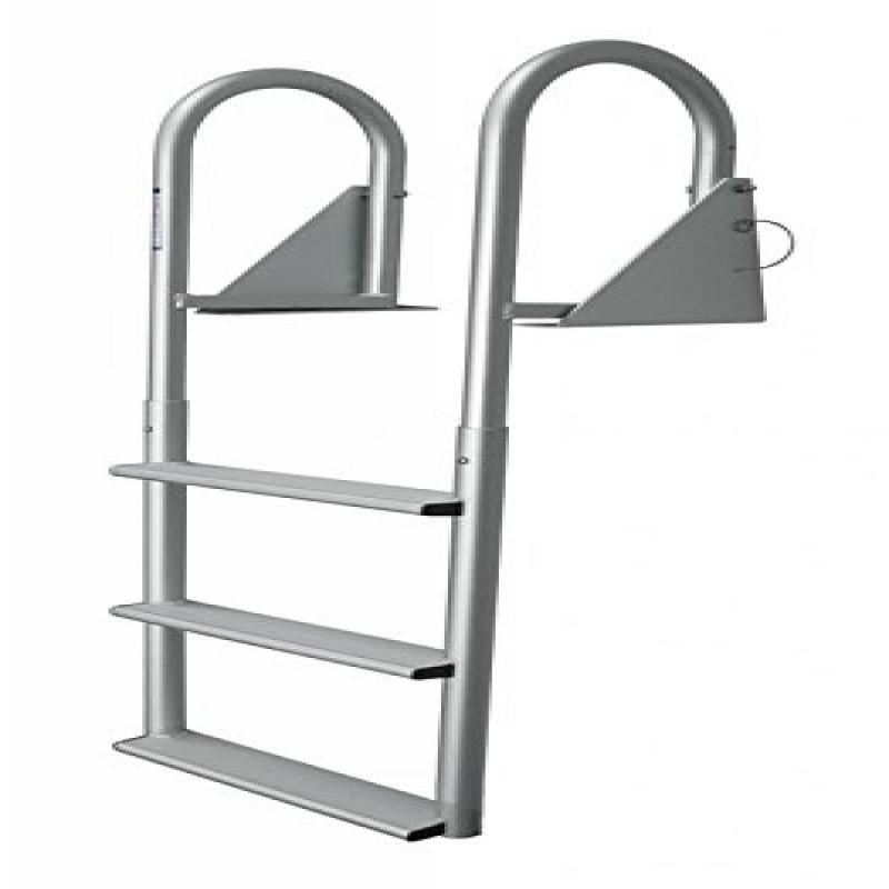 Jif Marine Djw5 W 5 Wide Step Hinged Dock Ladder