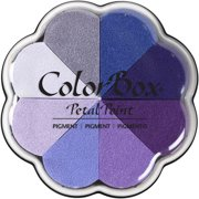ColorBox Pigment Petal Point Ink Pad 8 Colors-Bluebells