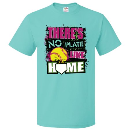 softball t-shirt: no plate like home