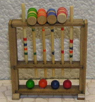 Dollhouse Croquet Set