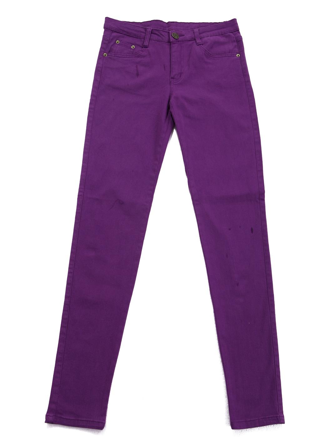 HDE Women's Jeans Jeggings Five Pocket Stretch Denim Basic Slim Fit Skinny Pants