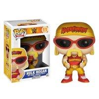 Funko Fundays 2015 Freddy Funko as Hulk Hogan POP FIGURE Wrestling WWE #34 with Yellow Shirt and Crown