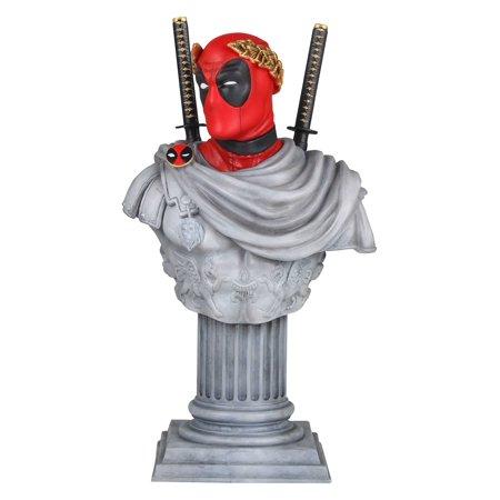 Deadpool Stats (MARVEL Deadpool Caesar Classic Mini Bust)
